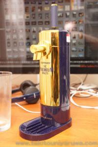 【amadana社監修】 ビールサーバー ザ・プレミアム・モルツ 超クリーミー泡2WAYサーバーを組み立てたところ。