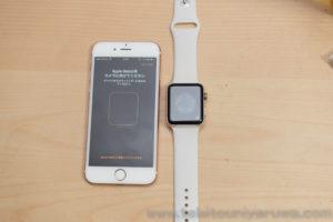 Apple Watch Series 3 GPS + Cellular をiPhoneとペアリング2