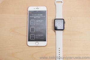 Apple Watch Series 3 GPS + Cellular をiPhoneとペアリングと復元