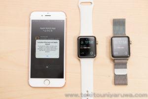 Apple Watch Series 3 GPS + Cellular をiPhoneとペアリング後に古いApple Watch とはペアリングが解除