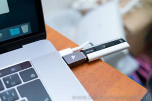 RAMPOW USB-Cアダプタ 使用写真