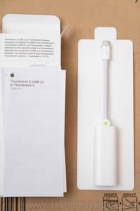 Apple Thunderbolt 3 to Thunderbolt 2 Adapter 中身