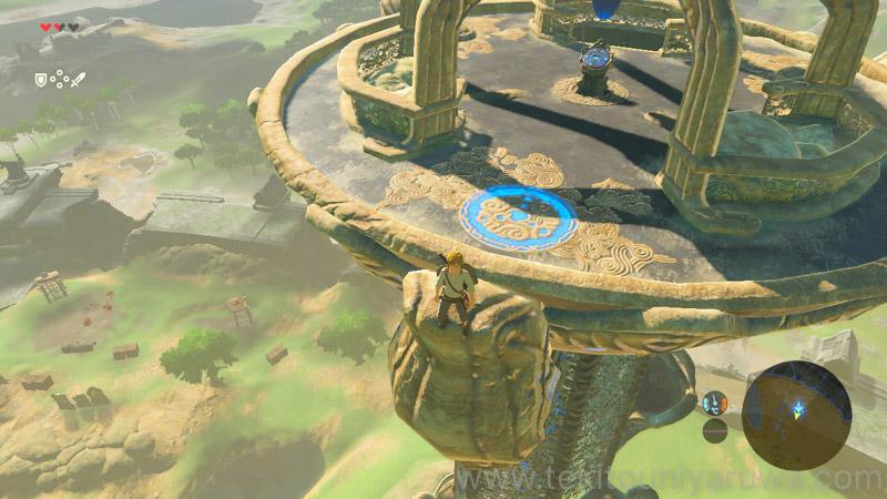 始まりの塔とリンク