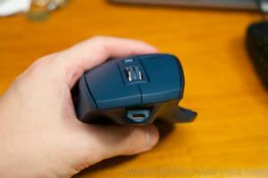 ロジクール MX Master 2Sの充電用USBポート