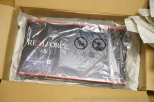 Realforceのパッケージ